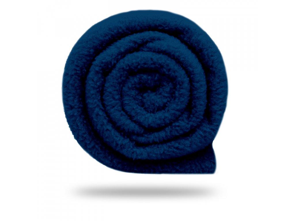 Fleece antipilling 190 g, Tm. Modrá