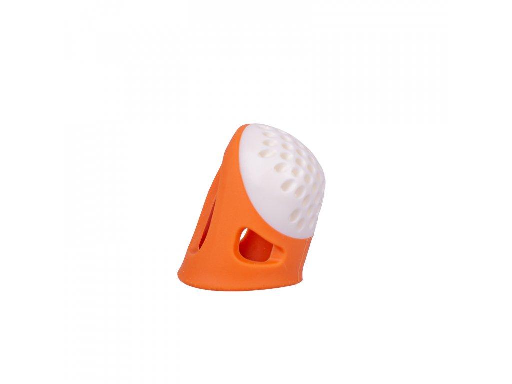 Ergonomický náprstek Prym, S, Oranžová