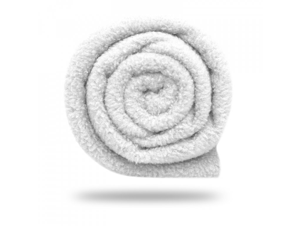 Fleece antipilling 190 g, Bílá