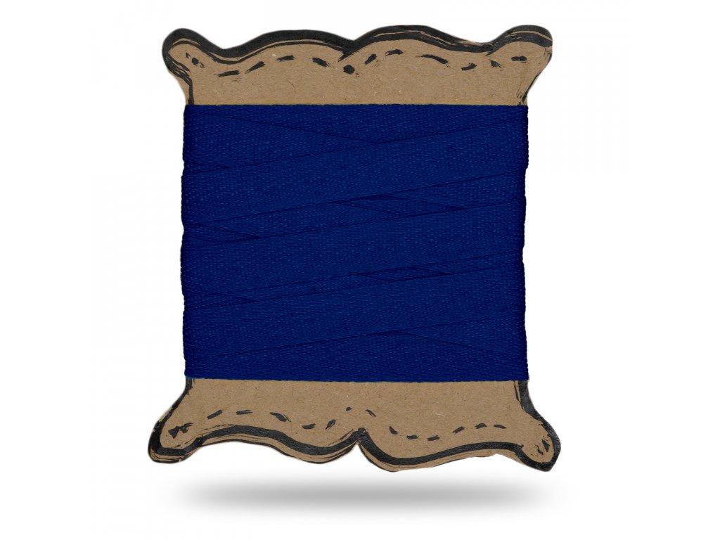 Plátěnka tkaloun 1,3 cm, Balení 3 m, Modrá Královská