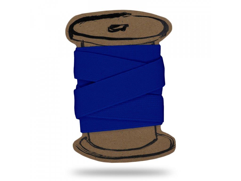 Pruženka hladká 2 cm,Balení 3 m,Tm. Modrá Královská