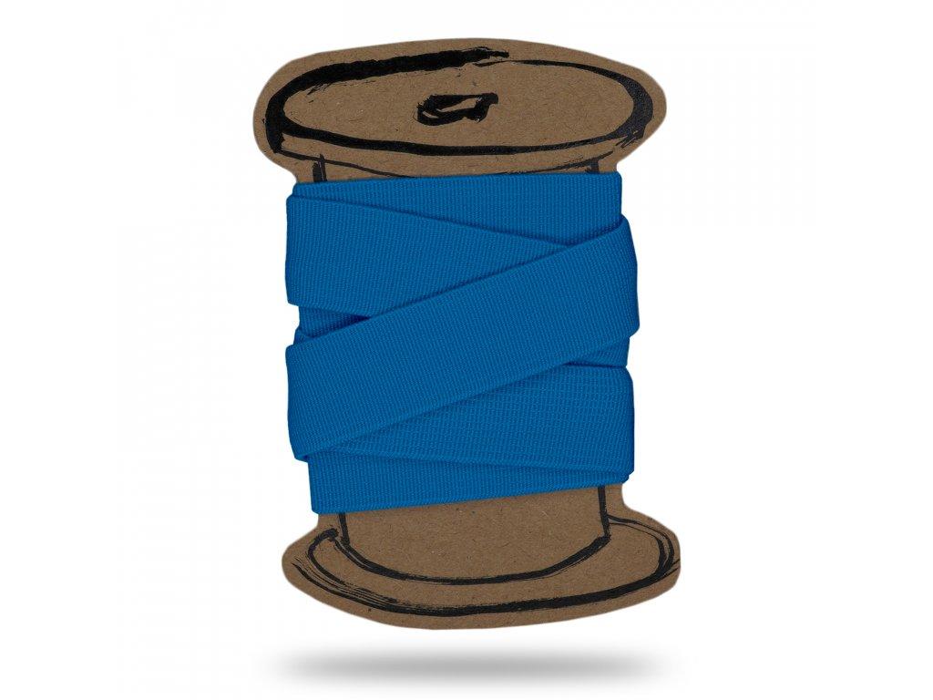 Pruženka hladká 2 cm,Balení 3 m,Sv. Tyrkysová Modrá
