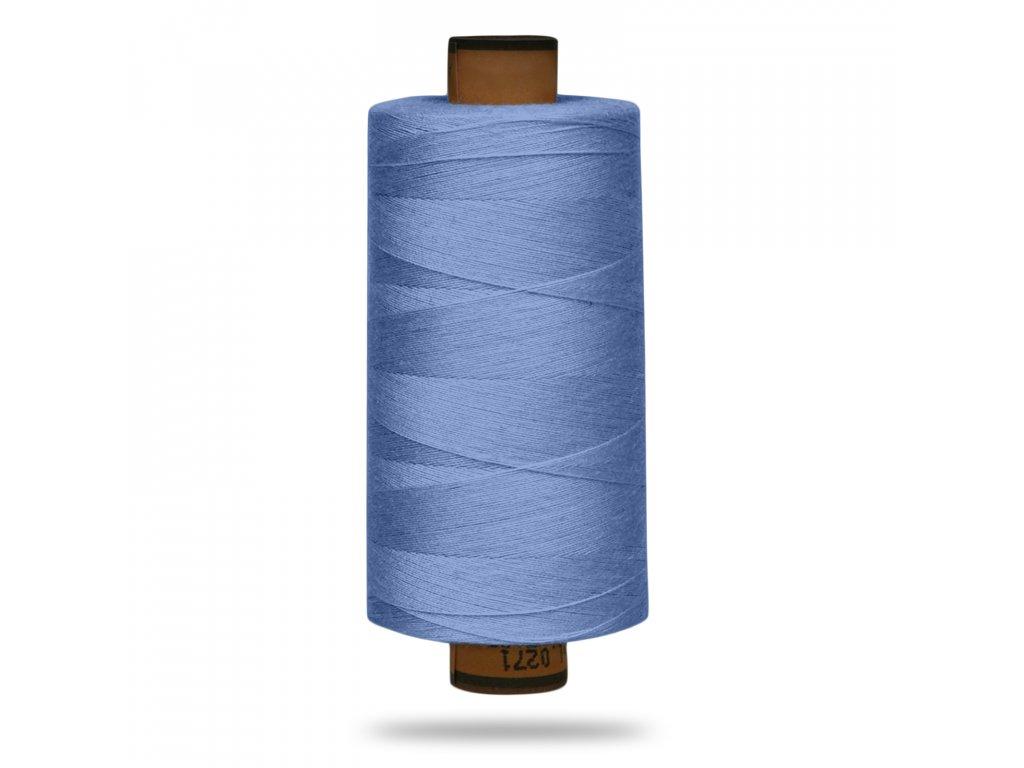 Nit polyesterová Belfil S 1000 m, Sv. Modrá Tlumená