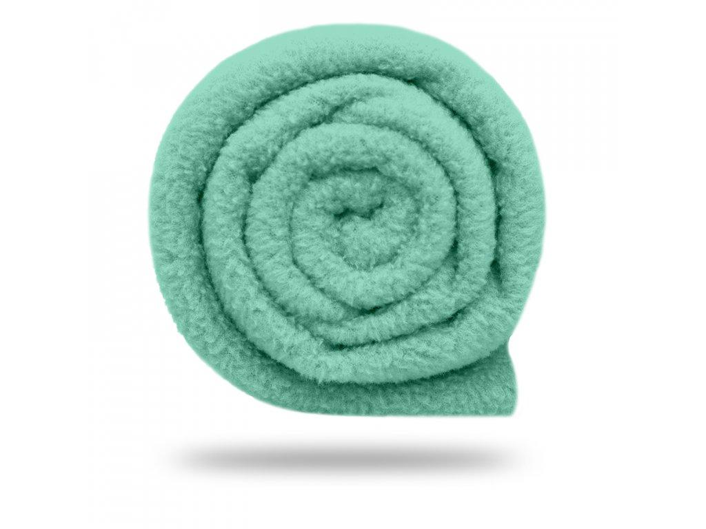Fleece antipilling 190 g, Mentolová