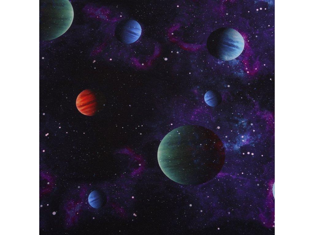 Úplet bavlněný, Galaxie