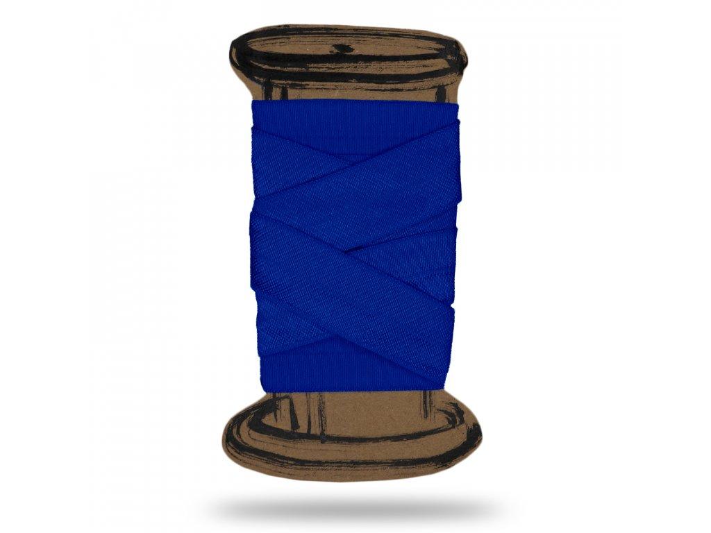Lesklá lemovací pruženka 1,8 cm, Balení 3 m, Tm. Modrá Královská