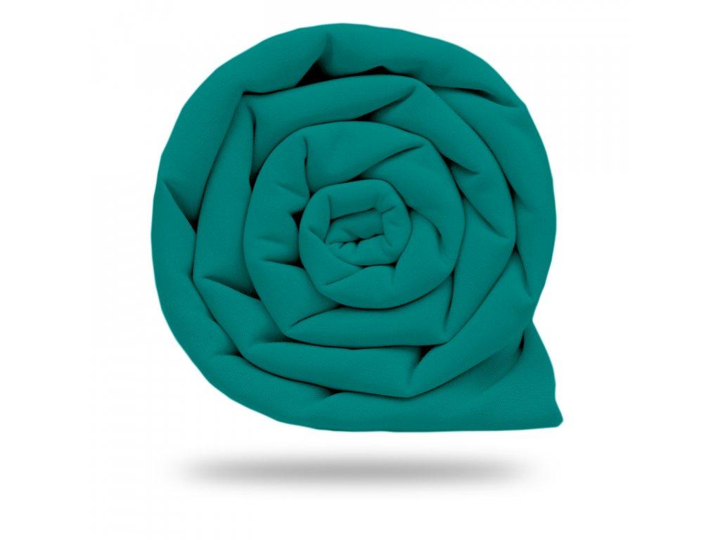 Softshell zimní s fleecem 10/3, Smaragdová Tlumená