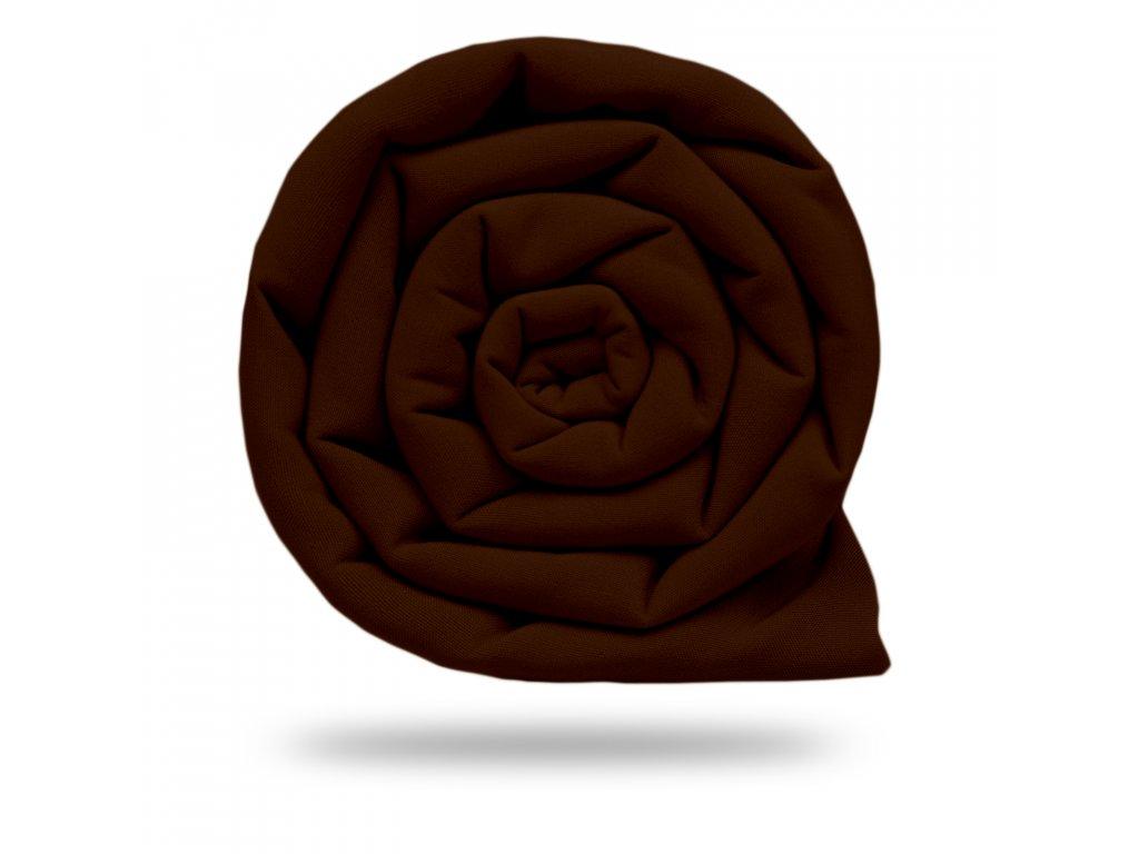 Softshell zimní s fleecem 10/3, Hořká Čokoládová
