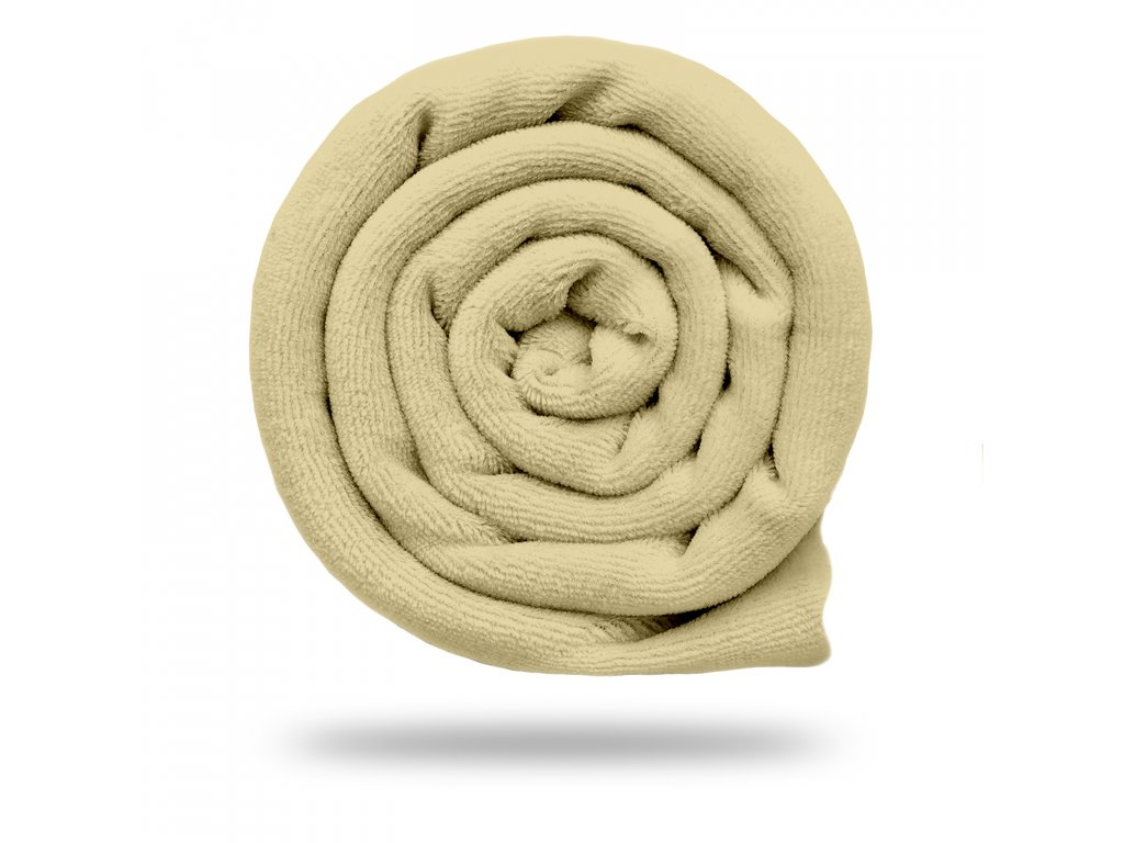 Kojenecký plyš bavlněný 250 g, Smetanová Sytá