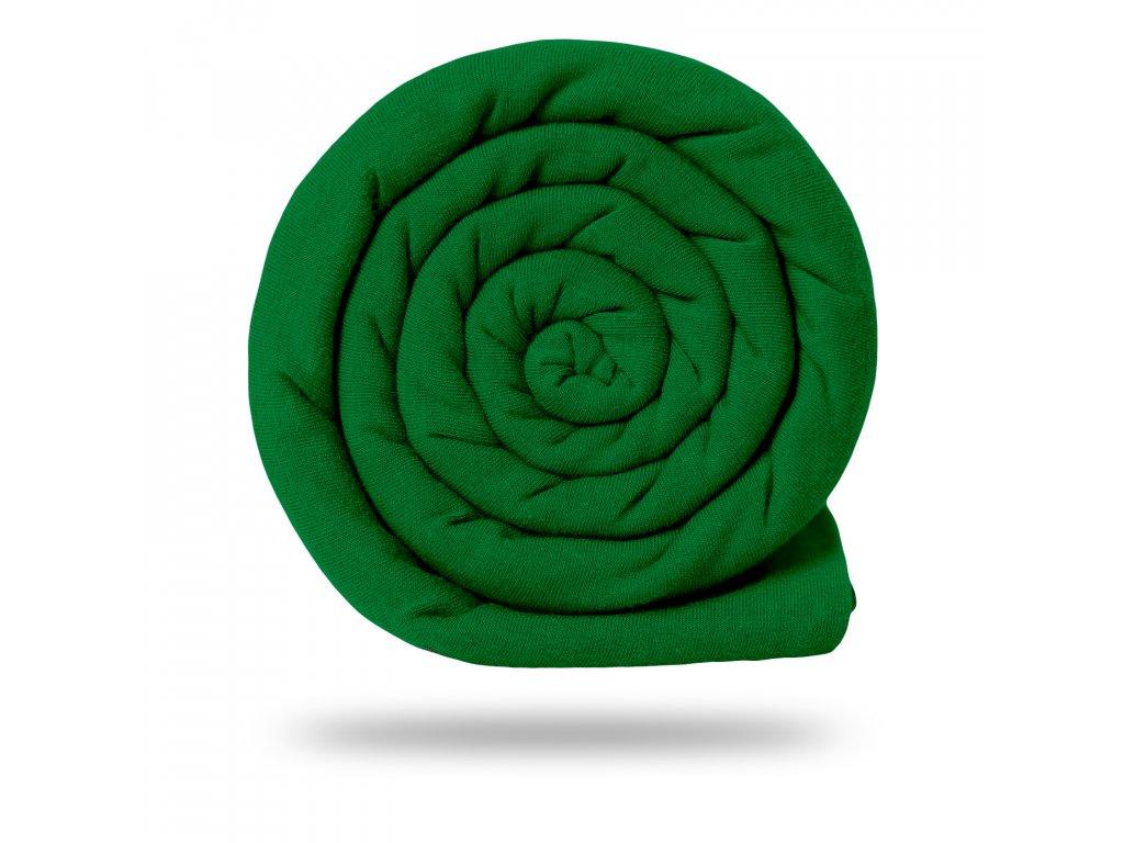 Teplákovina 245 g, Zelená