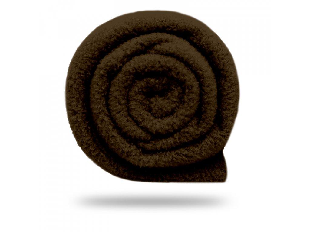 Fleece antipilling 190 g, Tm. Hořká Čokoládová