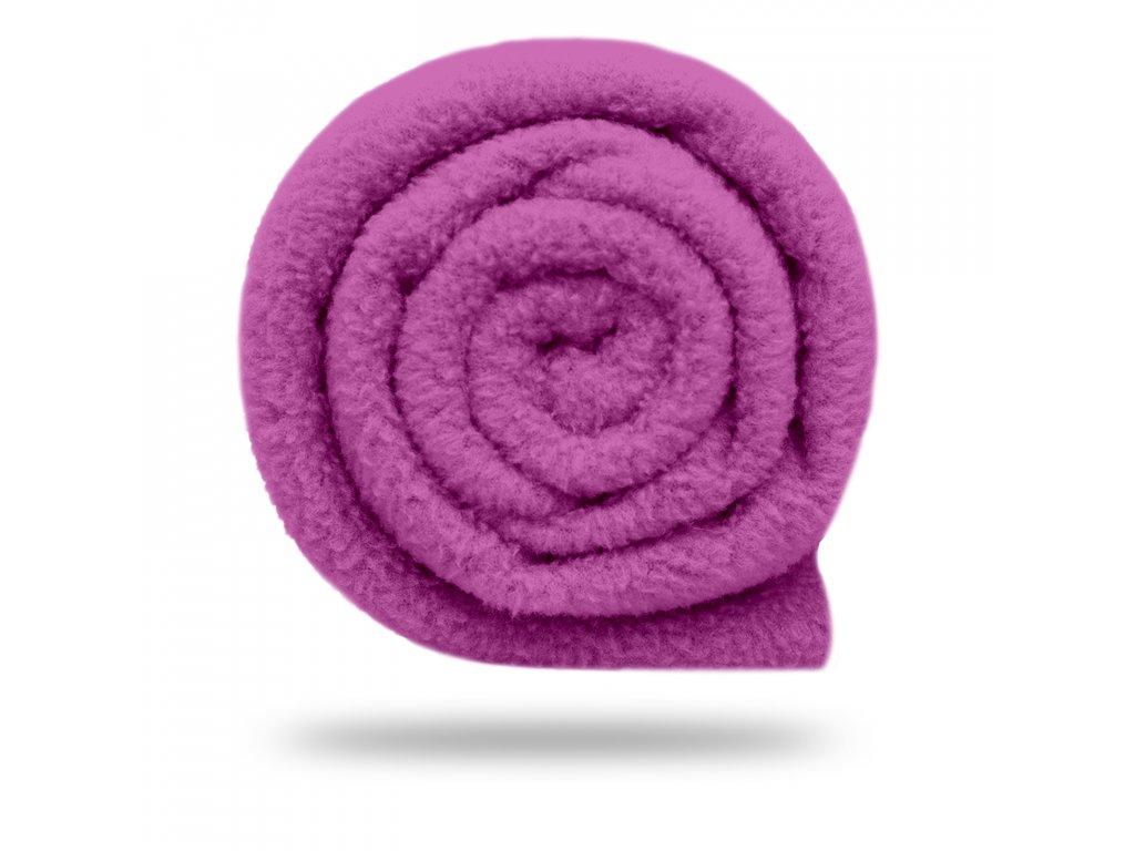 Fleece antipilling 190 g, Fialová Šeříková