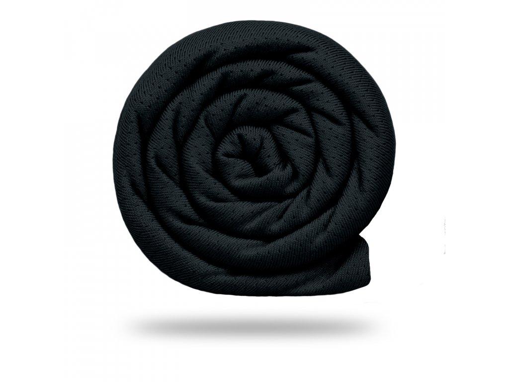 Funkční tričkovina Rina 175 g, Černá