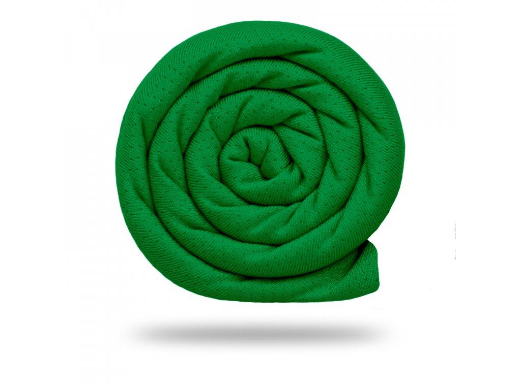 Funkční tričkovina Rina 175 g, Tm. Zelená Tlumená