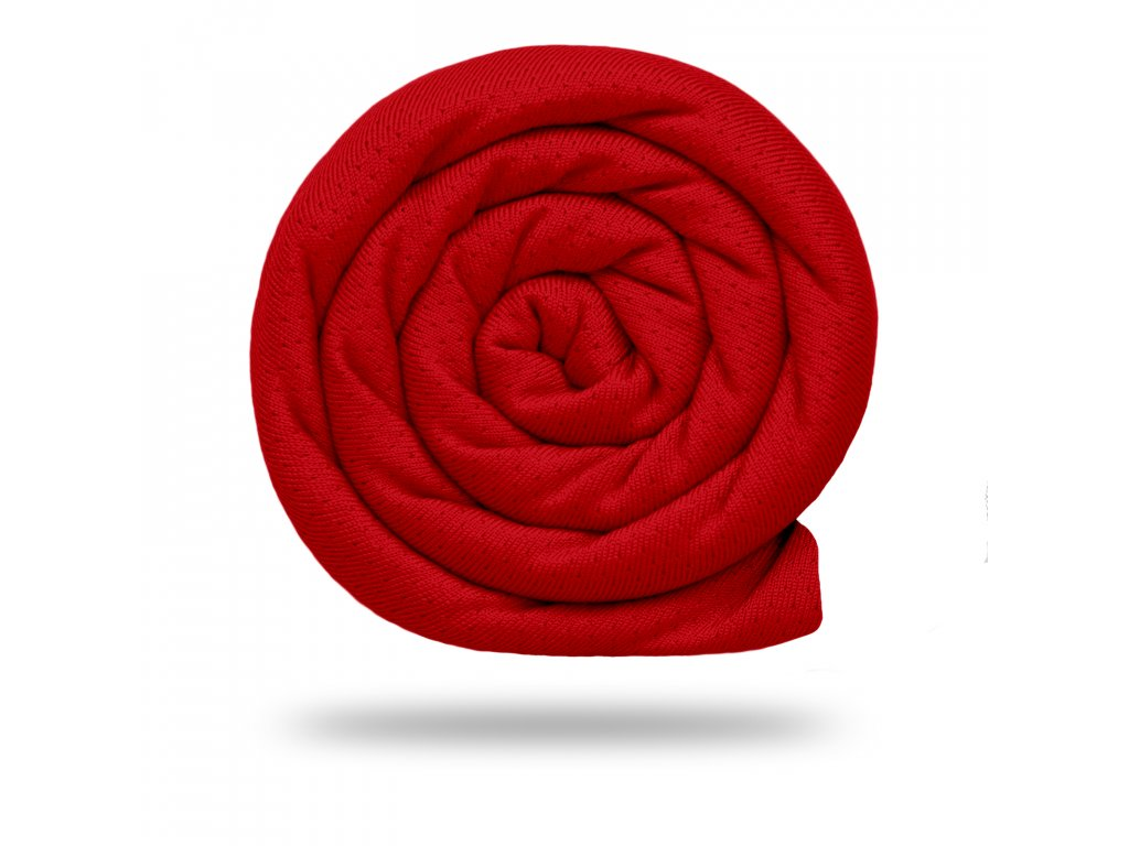 Funkční tričkovina Rina 175 g, Červená