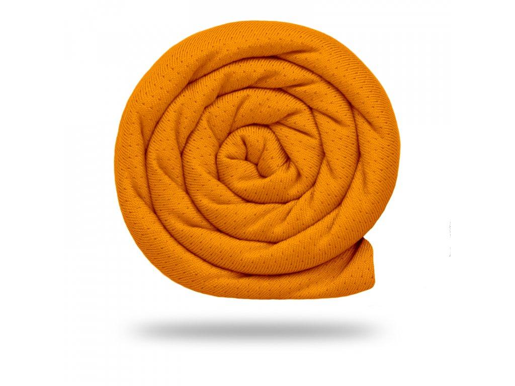 Funkční tričkovina Rina 175 g, Oranžová