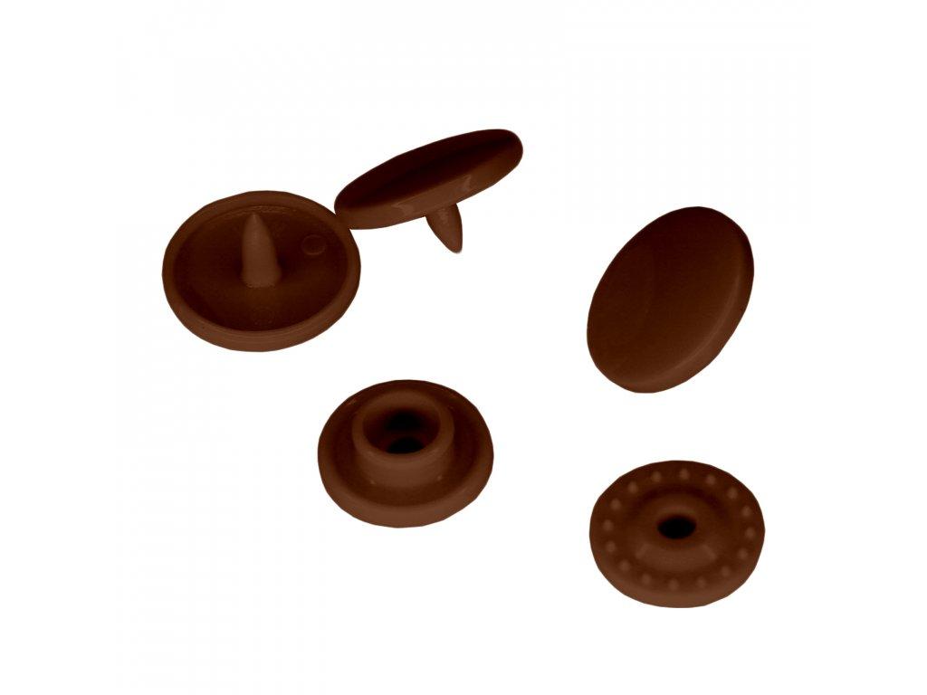 Patentky KAM,B 26,Hnědá Čokoládová