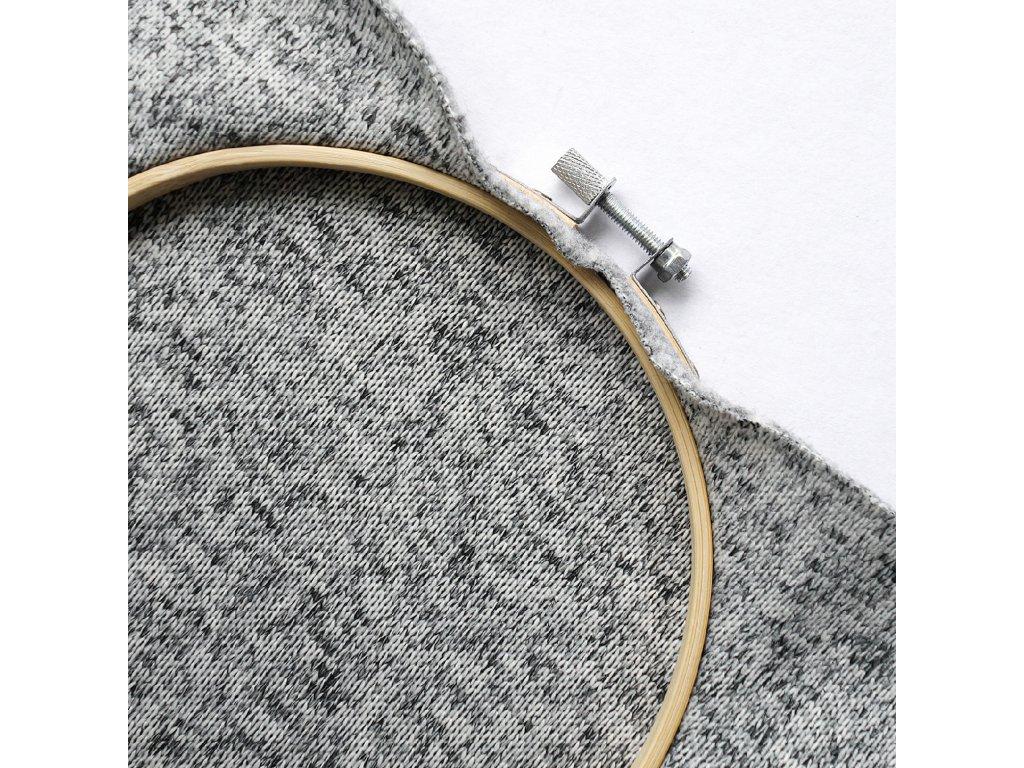 vzorek svetrovina fleecova