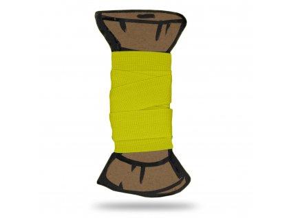 Matná lemovací pruženka 1,8 cm, Balení 3 m, Neonová Žlutá