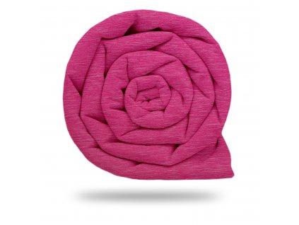 Prémiový funkční úplet 140 g/m2 s UV 50+, Žíhaná Růžová