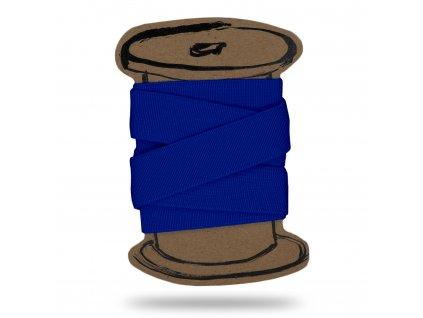 Pruženka hladká 2 cm, Balení 3 m, Tm. Modrá Královská