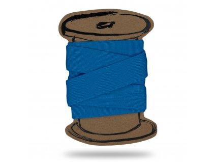 Pruženka hladká 2 cm, Balení 3 m, Sv. Tyrkysová Modrá