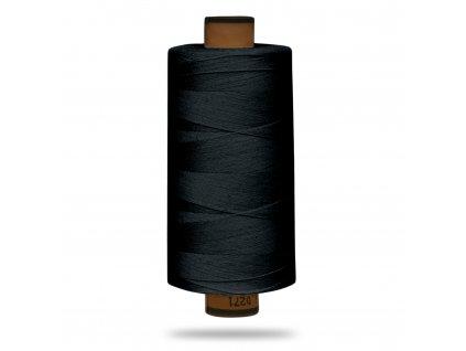 Nit polyesterová Belfil S 1000 m, Černá