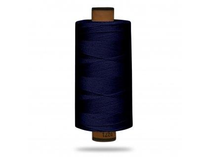 Nit polyesterová Belfil S 1000 m,1305,Tm. Modrá Námořnická