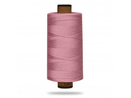 Nit polyesterová Belfil S 1000 m, Růžová Pudrová