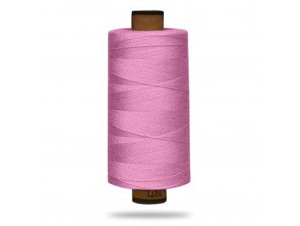 Nit polyesterová Belfil S 1000 m,1056,Růžová Baby
