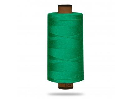 Nit polyesterová Belfil S 1000 m,239,Tm. Zelená Sytá