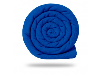 Náplet bavlněný  hladký 250 g, Modrá