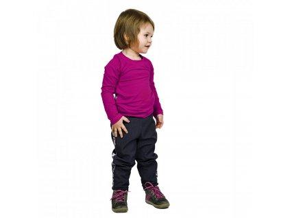 Unuo střih v el. formátu, Dětské tričko s dlouhým raglánovým rukávem