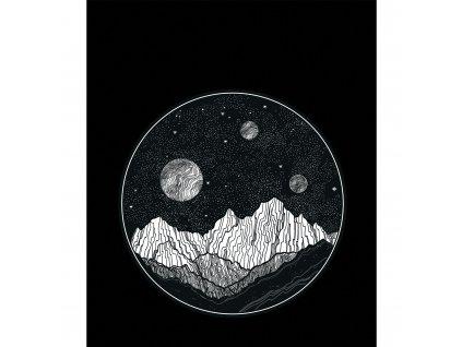 mesicni krajina cerna