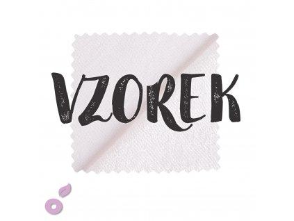 Vzorek Bavlněné froté české s PES mřížkou 210 g