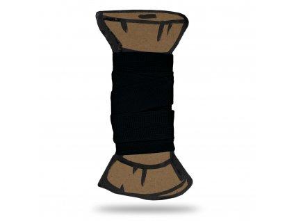 Matná lemovací pruženka 1,8 cm, Balení 3 m, Černá