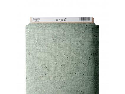 Mušelín bavlněný zdobený, Ladné pampelišky, Sv. Mořská Tlumená