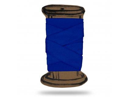 Lesklá lemovací pruženka 1,8 cm, Balení 3 m, Modrá Námořnická