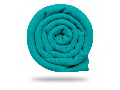 Kojenecký plyš bavlněný 250 g, Smaragdová Pastelová