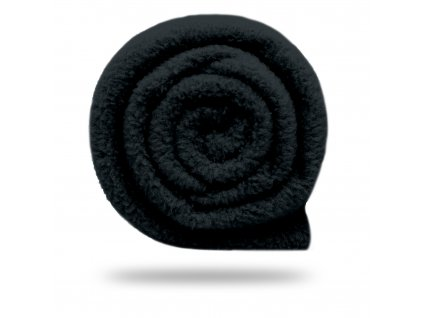 Fleece antipilling 190 g, Černá