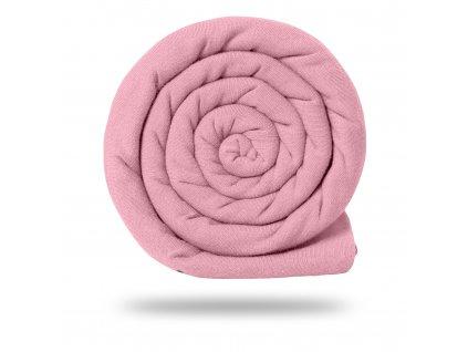 Úplet bavlněný 165 g, Sv. Růžová Baby
