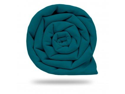 Softshell zimní s fleecem 10/3, Tm. Smaragdová
