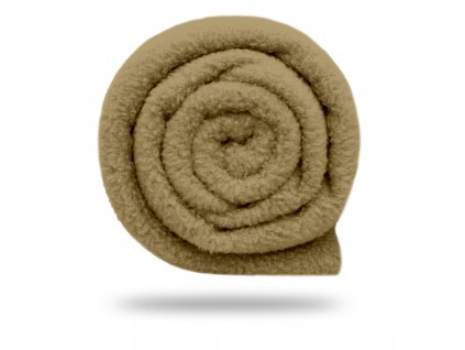 Fleece antipilling 190 g, Tm. Moka