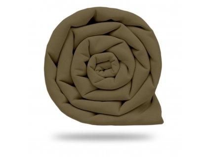 Plátno bavlněné elastické 235 g, Béžová