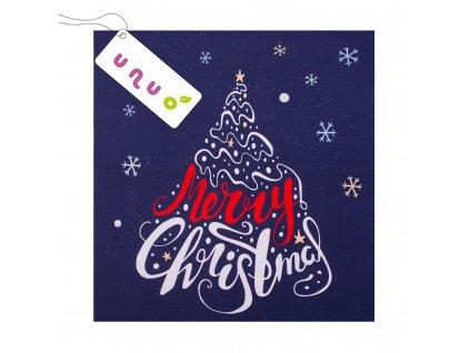 Panel 100% bavlna 48 x 48 cm, Merry Christmas
