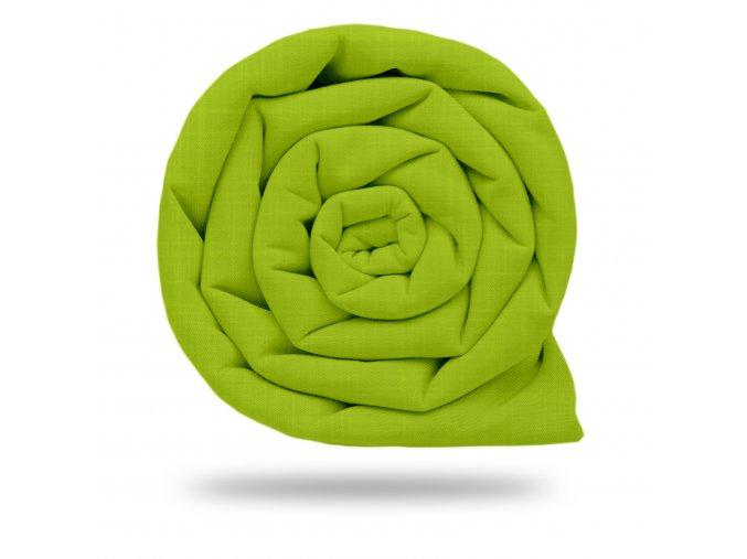 Softshell jarní s úpletem  Limetková zelená