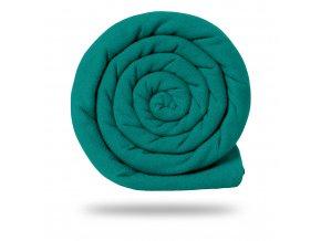vyr 4766teplakovina jednobarevna smaragd tmavy V