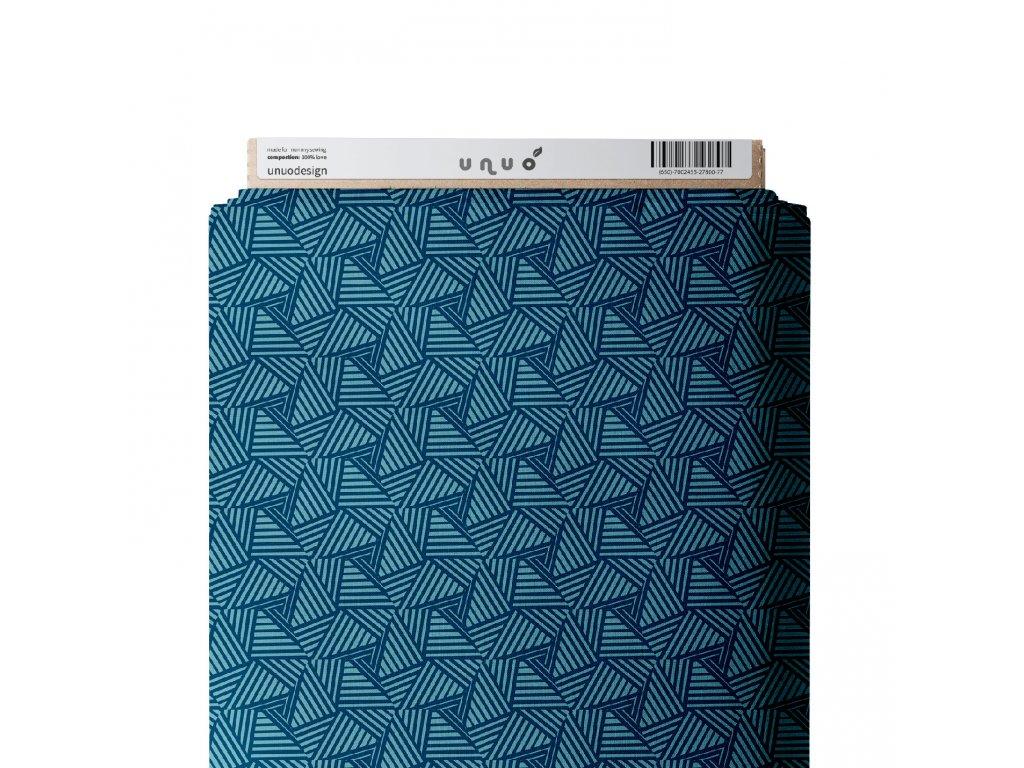 Unuo tlač, Fleece antipiling 190 g, Sharp, Modrá