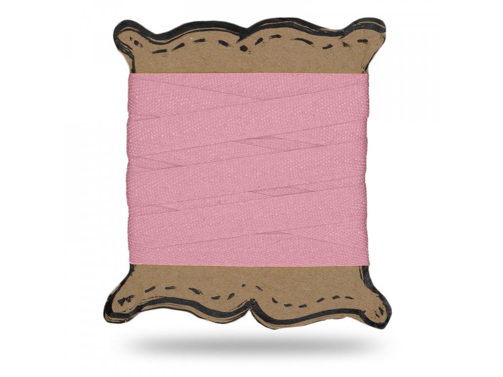 Keprovka tkaloun 1,6 cm, Balenie 3 m, Ružová