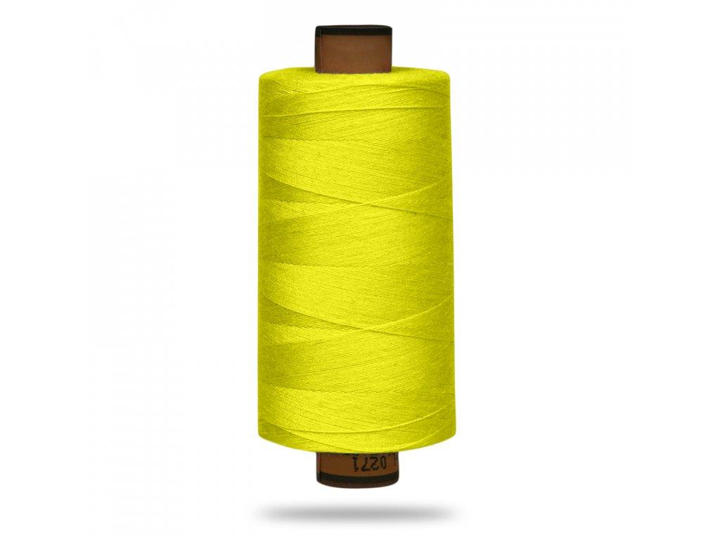30468 nit polyesterova belfil s 1000 m neonova zluta